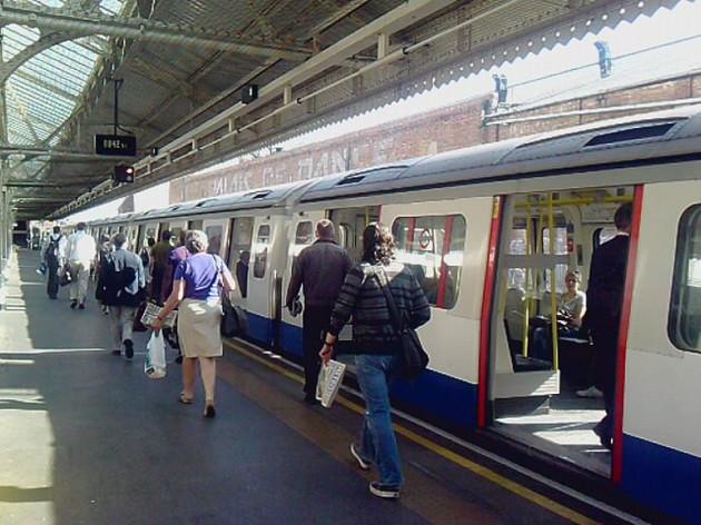 London Underground commuter