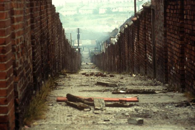Northern Ireland - The Troubles - Cupar Street - Belfast