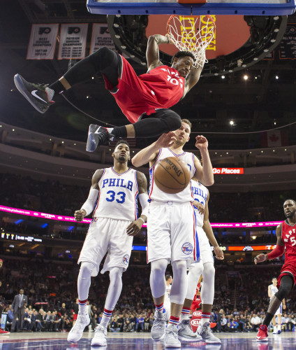 Raptors 76ers Basketball