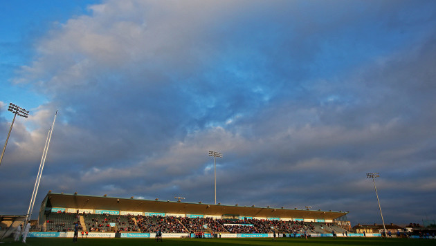 A general view of Parnell Park