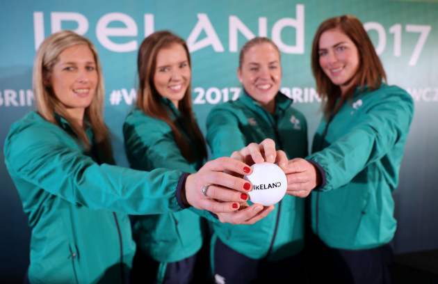 Alison Miller, Claire McLaughlin, Niamh Briggs and Nora Stapleton