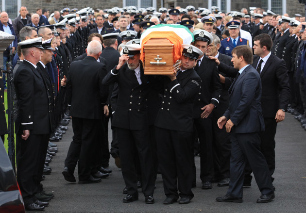 15/9/2016 Caitriona Lucas Funeral Scenes