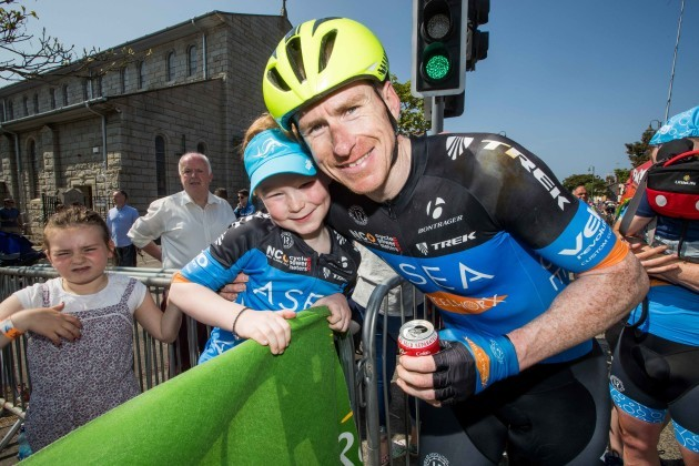Bryan McCrystal with Rian McCrystal