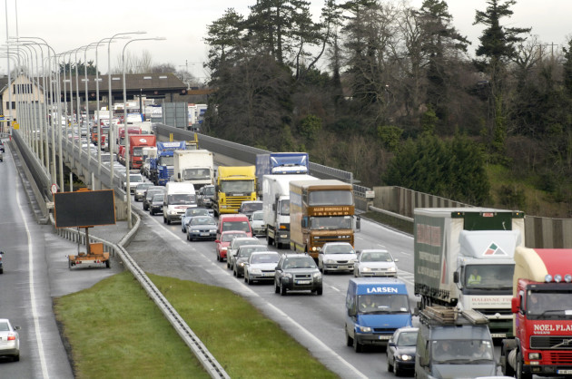 Traffic Gridlock Delays on Motorways