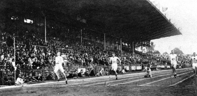 Athletics - Paris Olympic Games 1924 - Men's 400m - Final