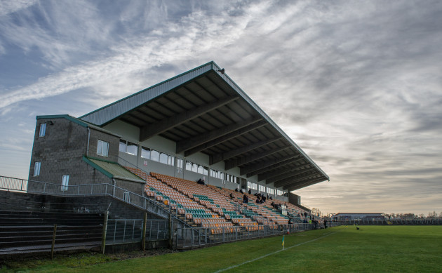 A general view of Pairc Sean MacDiarmada before the game