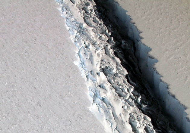 Nasa Ice Shelf