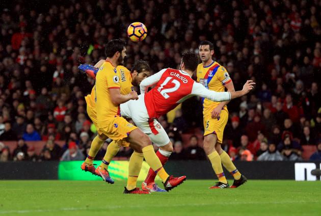 Arsenal v Crystal Palace - Premier League - Emirates Stadium