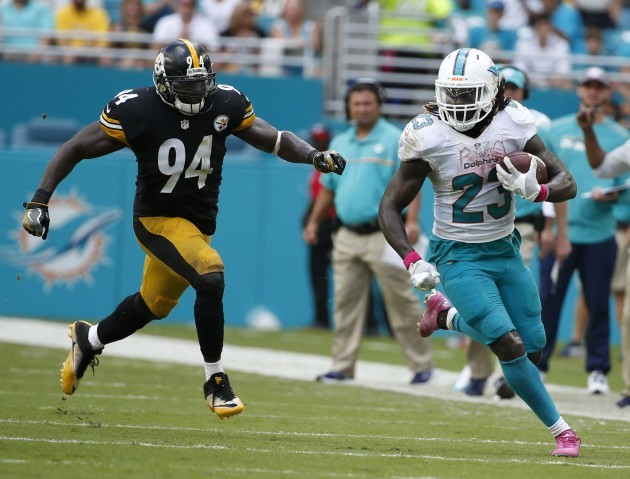 Steelers Dolphins Football