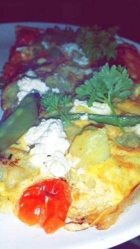 Ricotta & Tomato Frittata