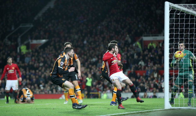 Manchester United v Hull City - EFL Cup - Semi Final - First Leg - Old Trafford