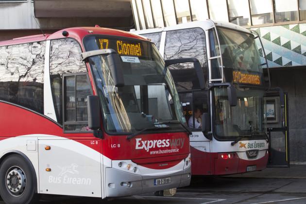 8/12/2016. Bus Eireann Buses