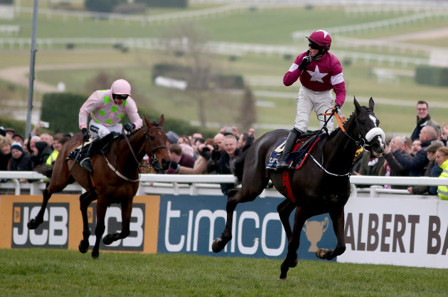 Don Cossack ridden by Bryan Cooper comes home to win