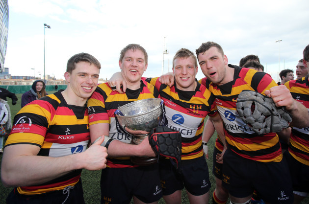 Cian Aherne, Willie Earle, Jack O'Connell and Tadhg Beirne