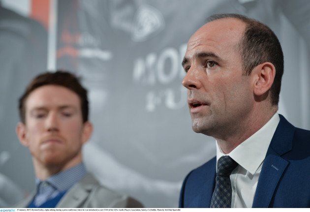 Dermot Earley introduced as new CEO of the GPA