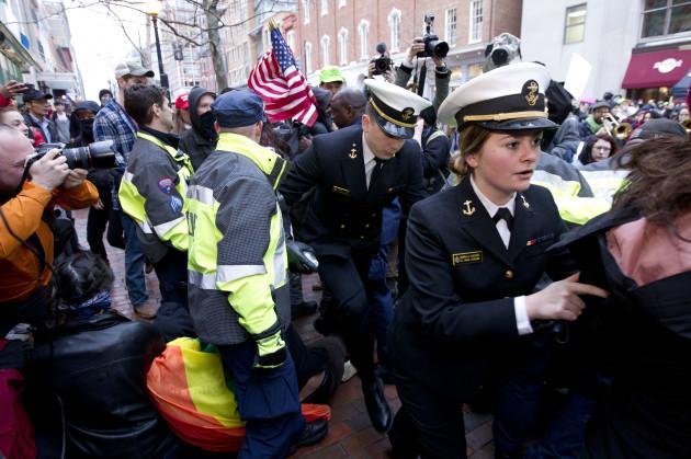 Trump Inauguration Protest