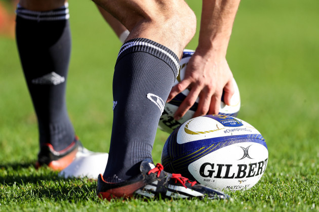 A view of Champions Cup balls