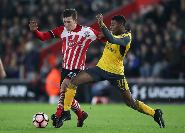 Southampton v Arsenal - Emirates FA Cup - St Mary's Stadium