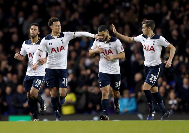 Tottenham Hotspur v Wycombe Wanderers - Emirates FA Cup - Fourth Round - White Hart Lane