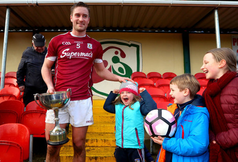 Gary O'Donnell joined by his nephew John Moran and Niece's Ella O'Donnell and Lauren O'Donnell