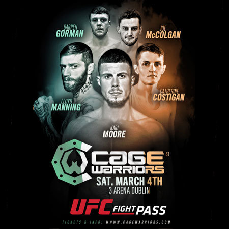 Cage Warriors Dublin