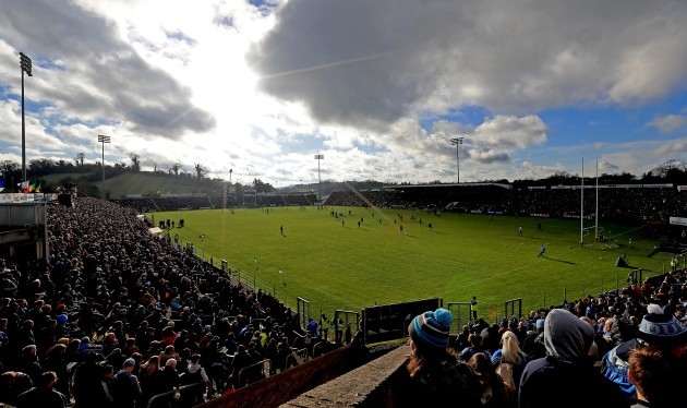 A view of the large crowd in Breffni Park