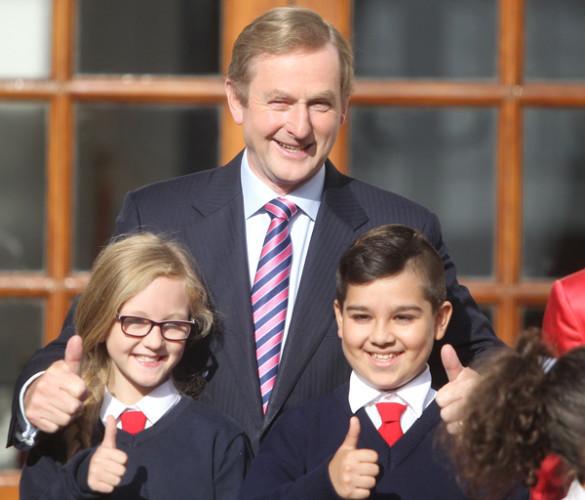 An Taoiseach Enda kenny