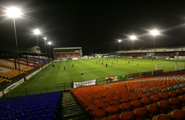 General view of Tolka park