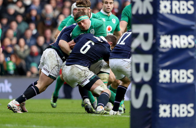CJ Stander tackled by Ryan Wilson