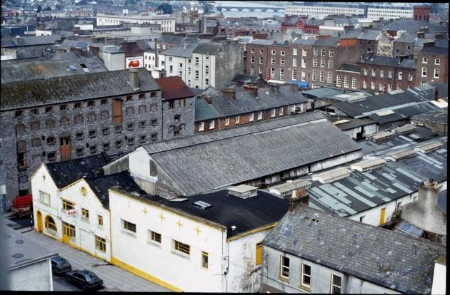 O'Mara's bacon factory,Roches Street, Limerick Courtesy Tony Punch