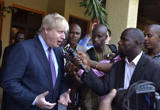 Gambia UK Foreign Secretary