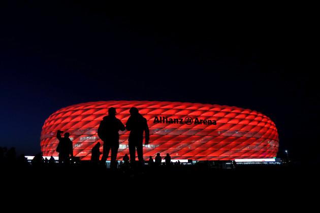Bayern Munich v Arsenal - UEFA Champions League - Round of 16 - First Leg - Allianz Arena