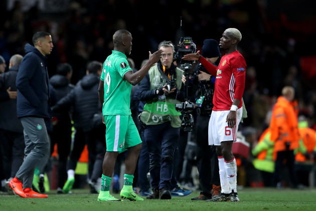 Manchester United v Saint-Etienne - UEFA Europa League - Round of 32 - First Leg - Old Trafford