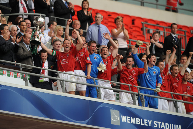 Soccer - FA Trophy - Final - Ebbsfleet United v Torquay United - Wembley Stadium