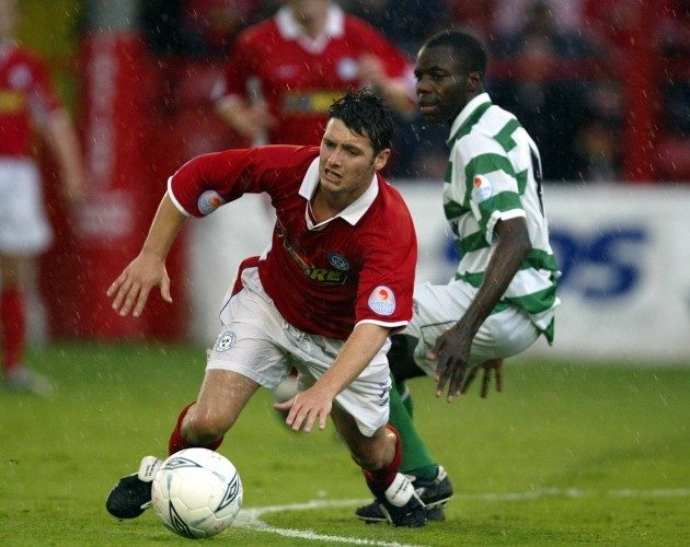Wes Hoolahan and Mark Rutherford 2/7/2004