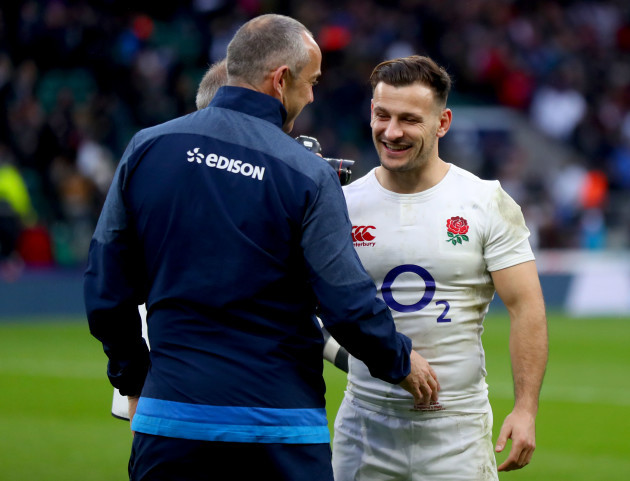 Conor O'Shea and Danny Care