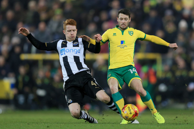 Norwich City v Newcastle United - Sky Bet Championship - Carrow Road