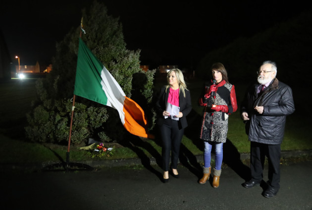 Shot IRA men commemoration