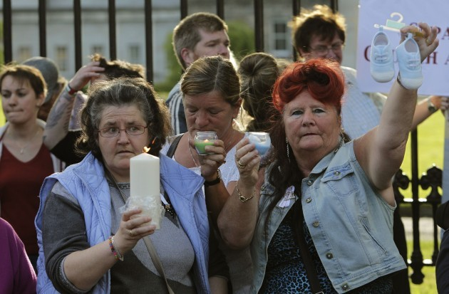 Mother and baby homes vigil