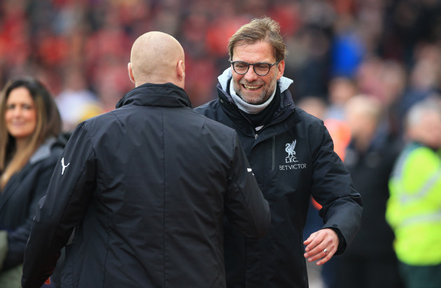 Liverpool v Burnley - Premier League - Anfield
