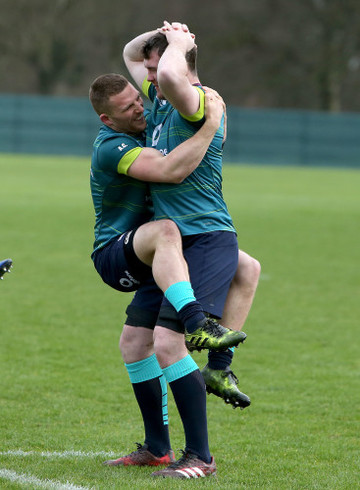 Andrew Conway and Peter O'Mahony