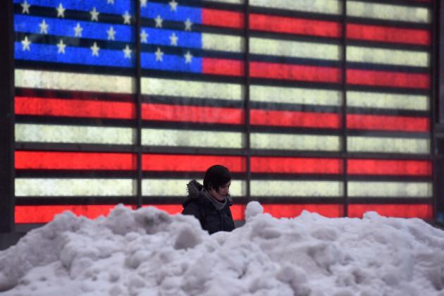 NY: Winter Storm Stella Sweeps Through New York City