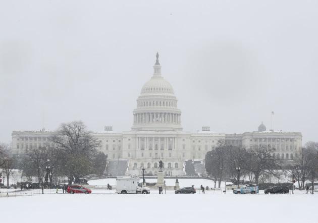 US blizzard