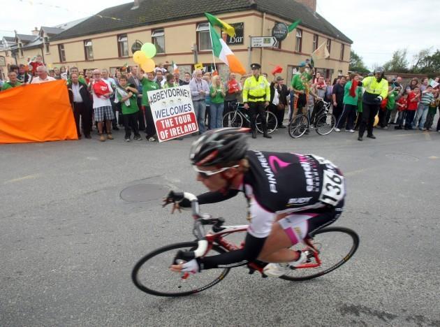 Peter Williams passes through Abbeydorney