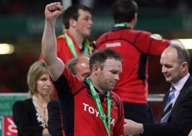 John Kelly gets his medal
