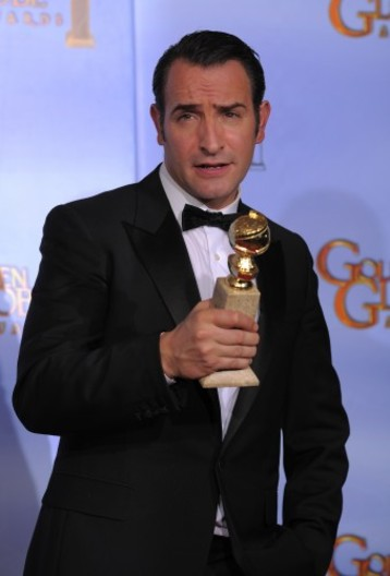 Golden globes gallery the red carpet winners the daily edge for Dujardin height