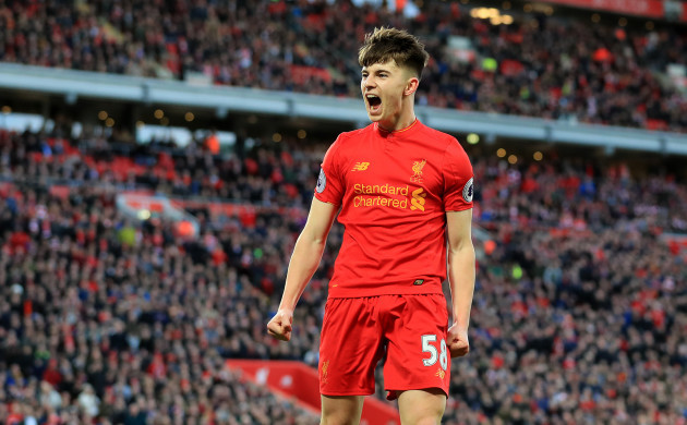 Liverpool forward Ben Woodburn receives first Wales call-up