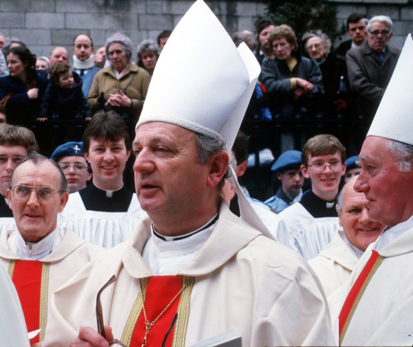 Former Bishop Eamon Casey funeral is today