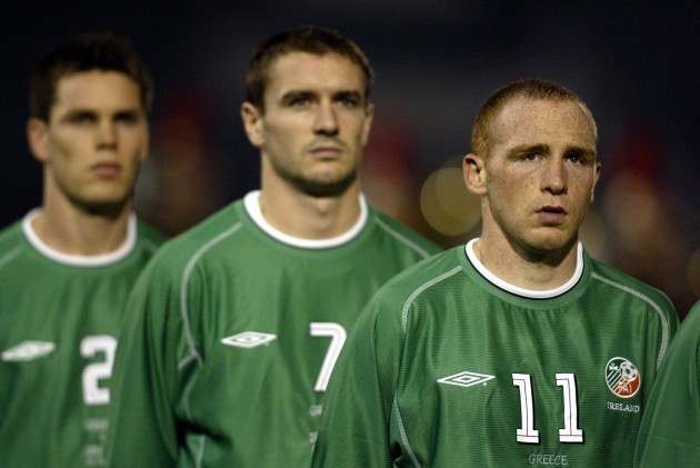 Steve Finnan Colin Healy and Glen Crowe 20/11/2002 DIGITAL