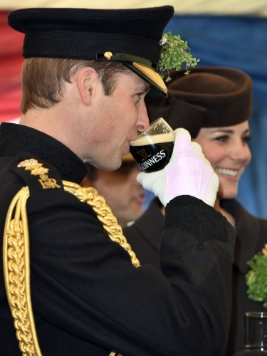 Royal visit to Mons Barracks - Hampshire